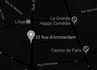 33 rue d'Amsterdam 75 008 Paris